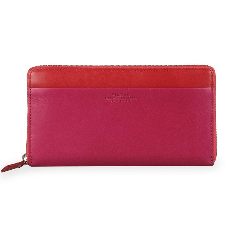 Maitre Dámská kožená peněženka Sohren Dietrun 4060001388 - růžová