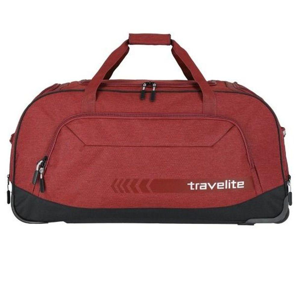 Travelite Cestovní taška na kolečkách Kick Off Red 120 l