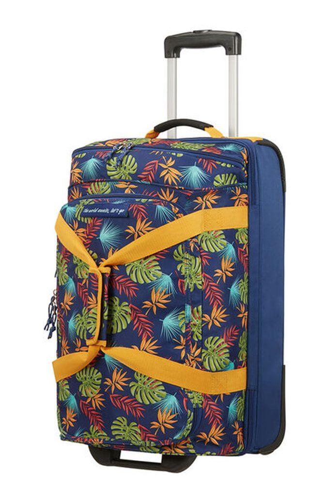 American Tourister Cestovní taška na kolečkách Alltrail S 53 l - modrá