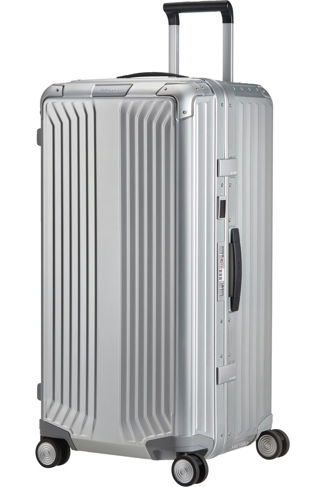 Samsonite Hliníkový cestovní kufr Lite-box Alu Trunk XL 106 l - Aluminium