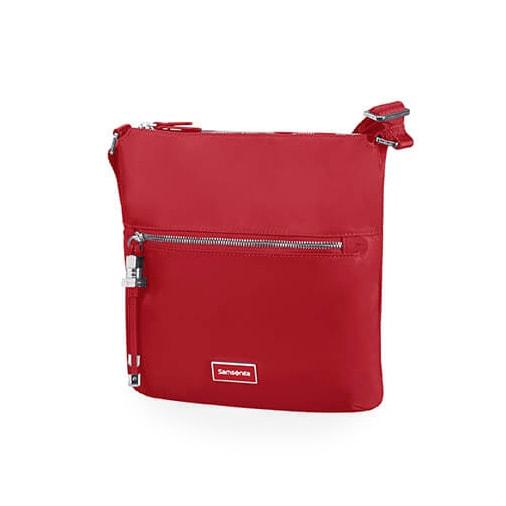Samsonite Dámská kabelka přes rameno Karissa Crossover 34N - červená