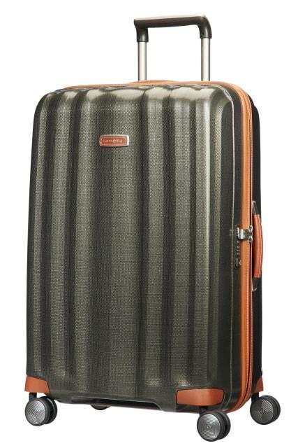 Samsonite Cestovní kufr Lite-Cube DLX Spinner 82V 96 l - zelená