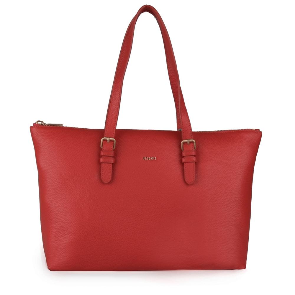 JOOP! Dámská kožená kabelka přes rameno Marla 4140004139 - korálová