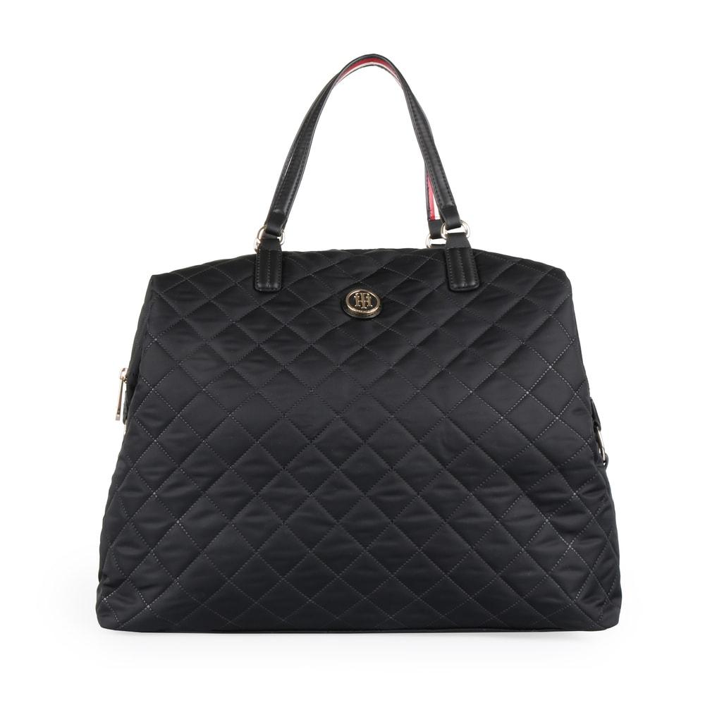 Tommy Hilfiger Dámská cestovní taška Poppy Weekender AW0AW07288 - černá