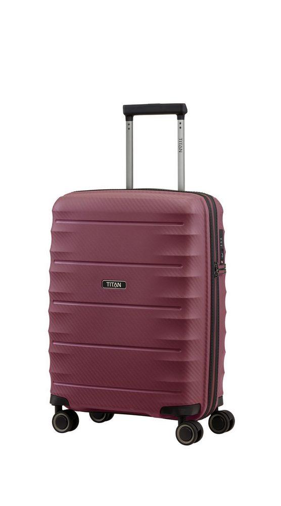 Levně Titan Kabinový cestovní kufr Highlight 4w S Merlot 38 l