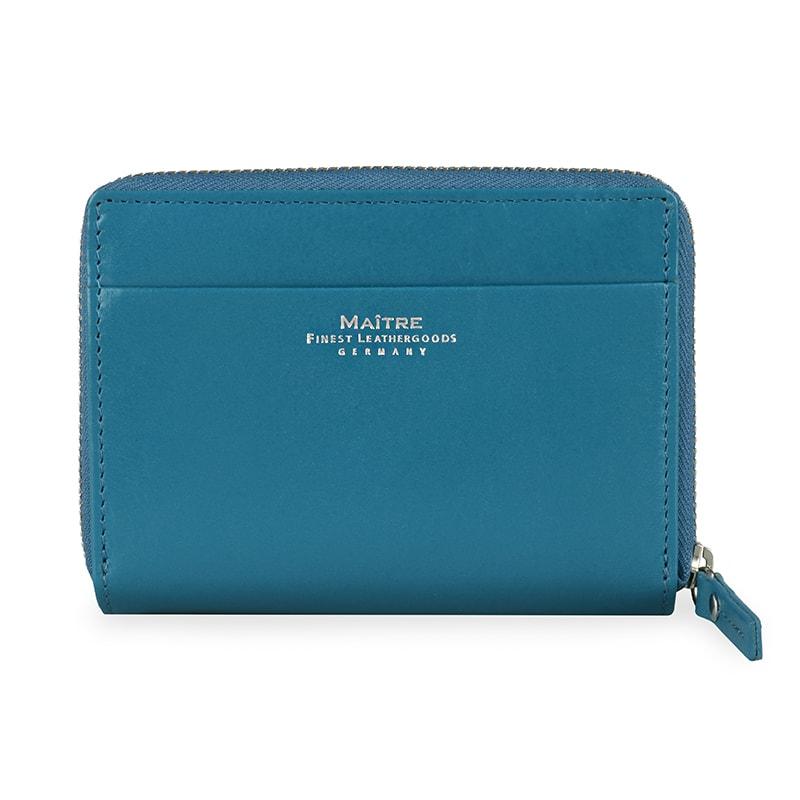 Maitre Dámská kožená peněženka Schwollen Diethilde 4060001385 - modrá