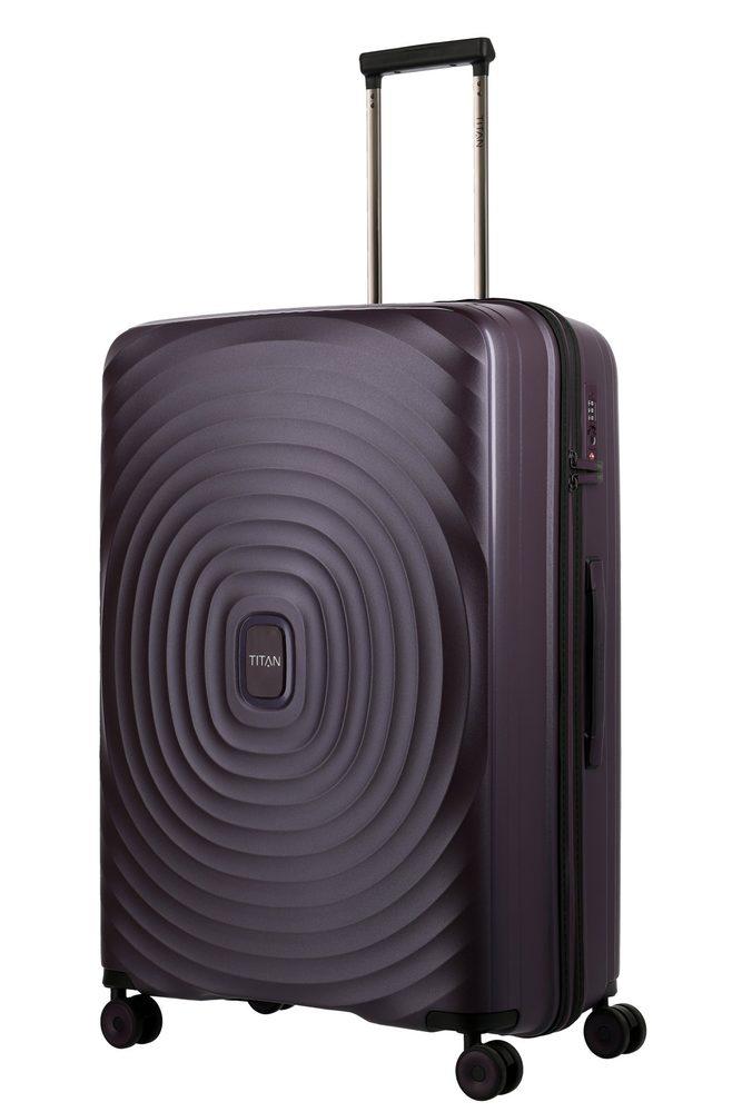 Titan Skořepinový cestovní kufr Looping L Purple 105 l