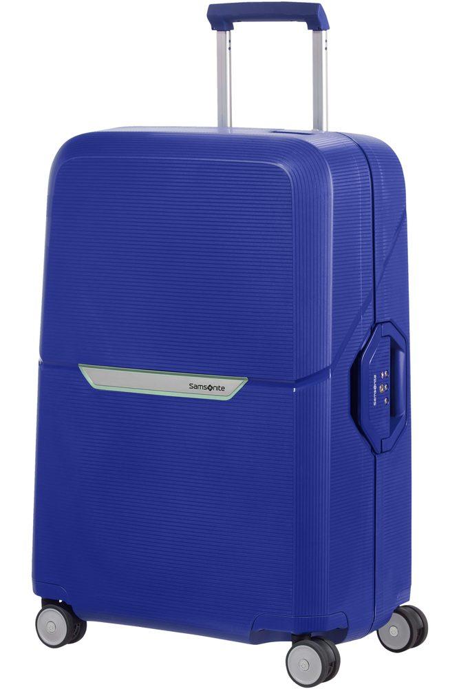 Samsonite Skořepinový cestovní kufr Magnum 82 l - kobaltová modrá