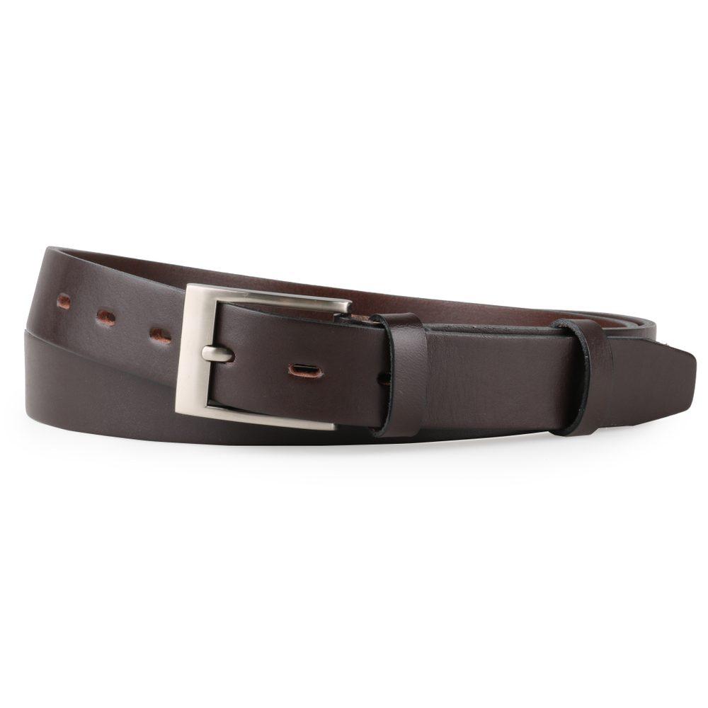 Penny Belts Nadměrný pánský kožený opasek 30-100-40 tmavě hnědý - 135