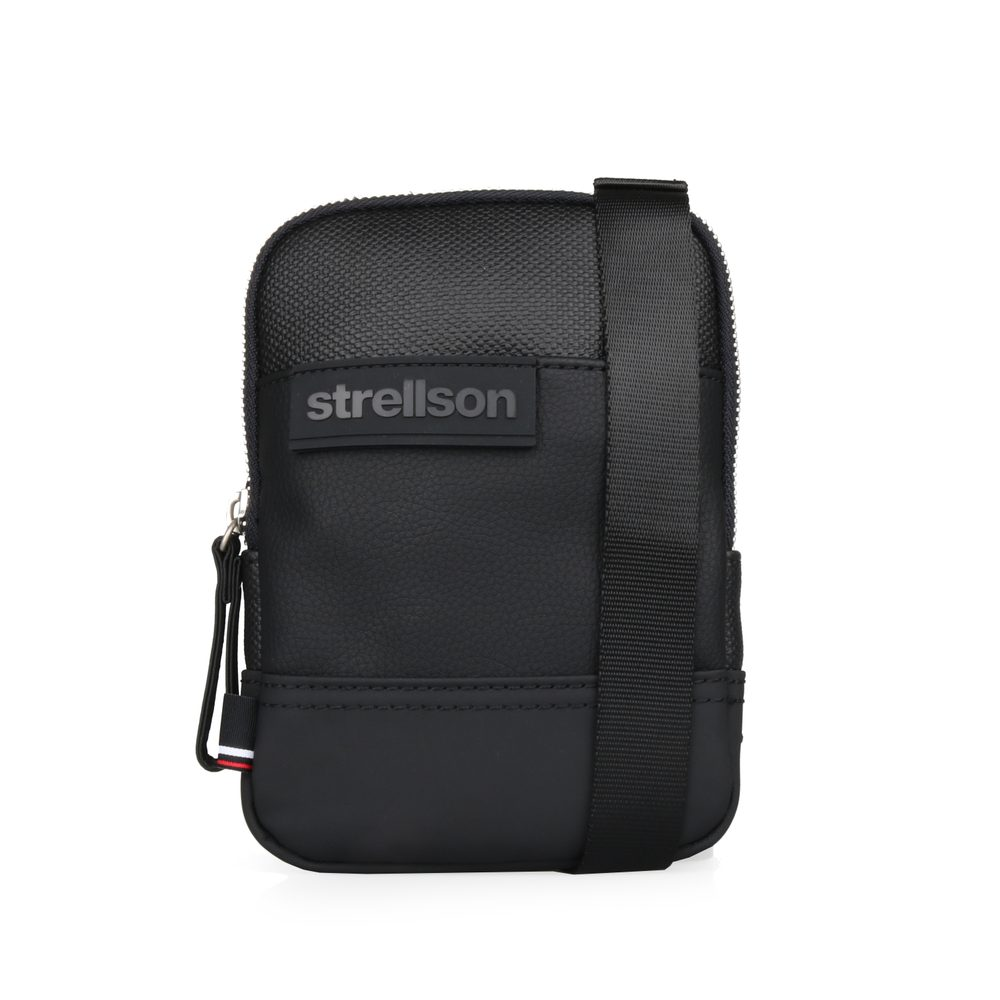 Strellson Pánský messenger Royal Oak 4010002783 - černá
