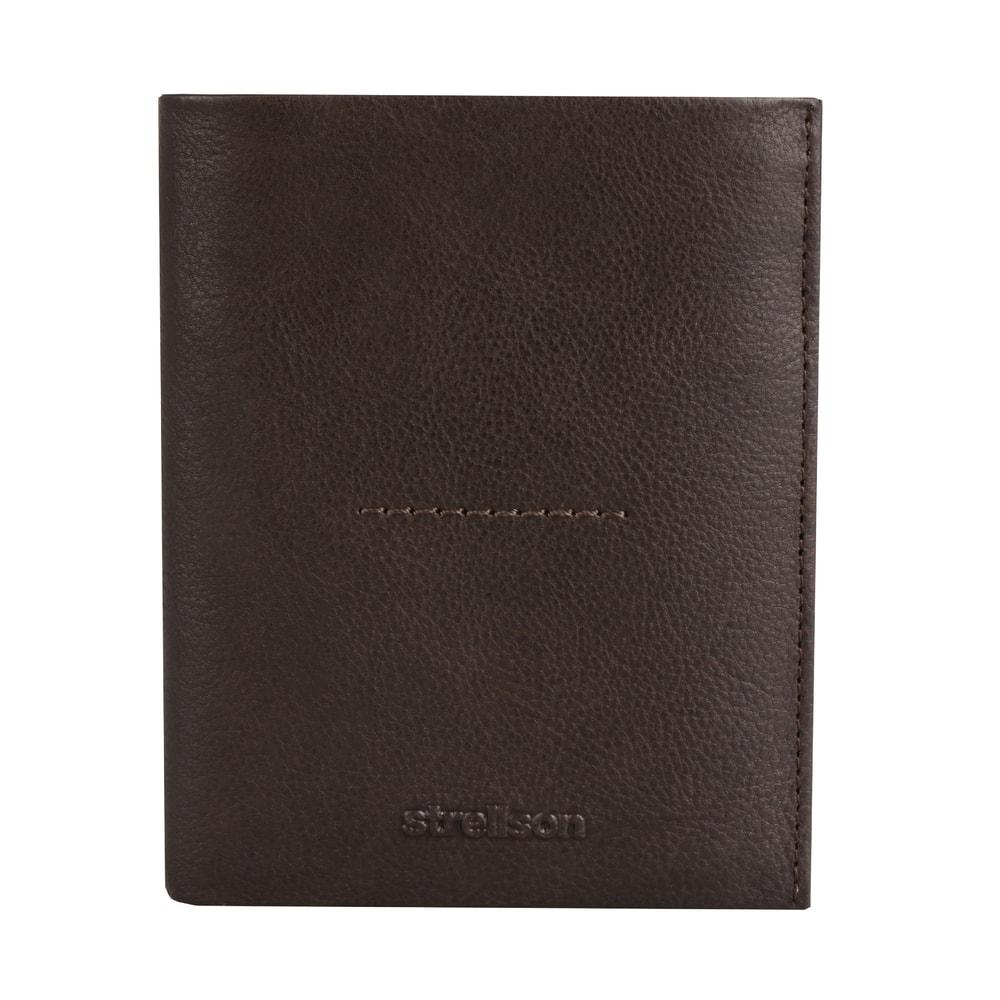 Strellson Pánská kožená peněženka Coleman 2.0 4010002556 - hnědá