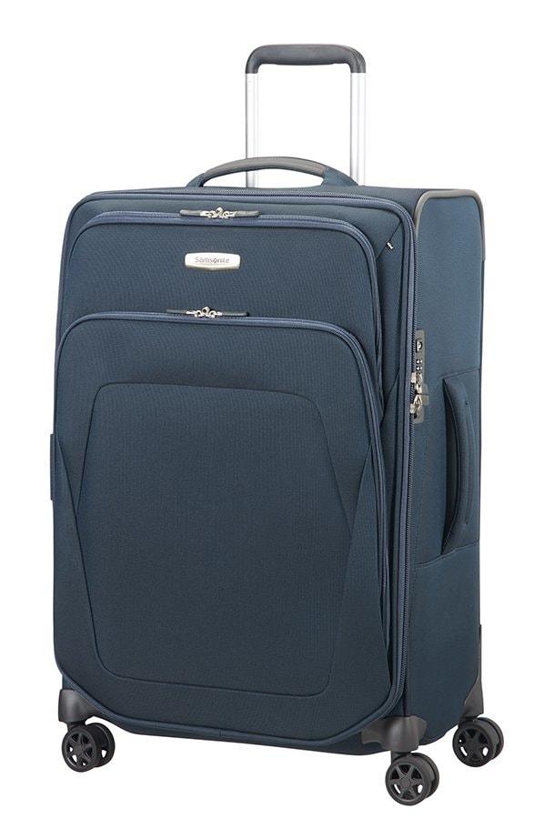 Samsonite Cestovní kufr Spark SNG 82/92 l - modrá