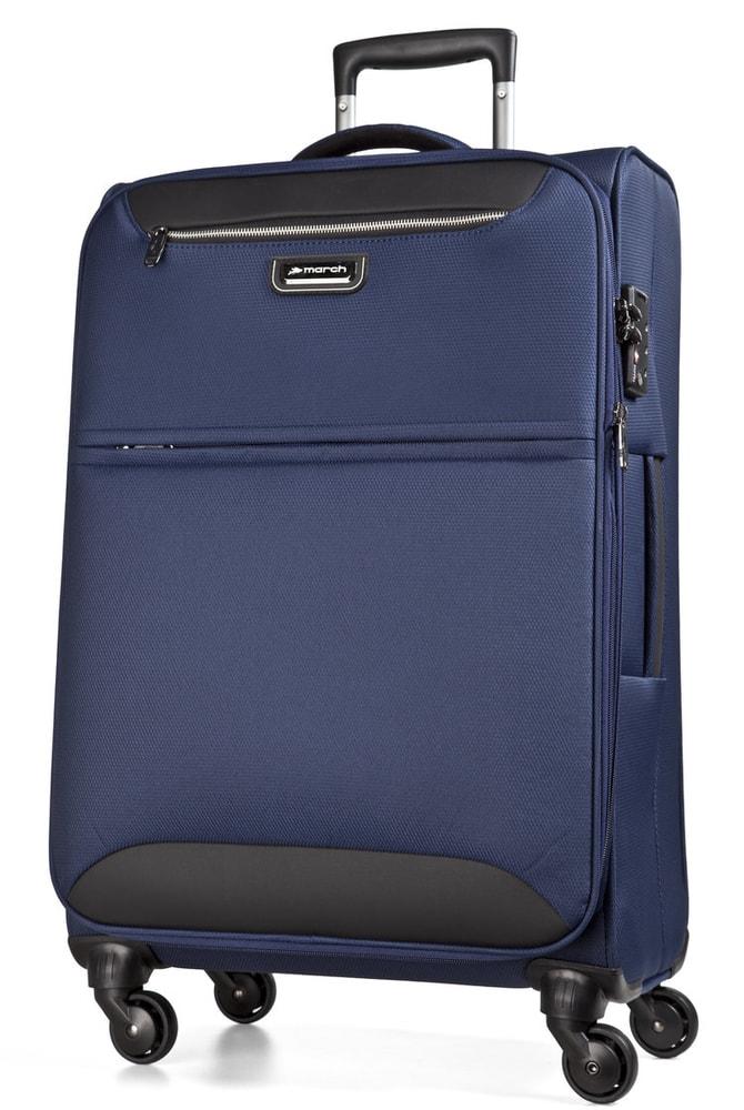 March Cestovní kufr Flybird 97/114 l - tmavě modrá