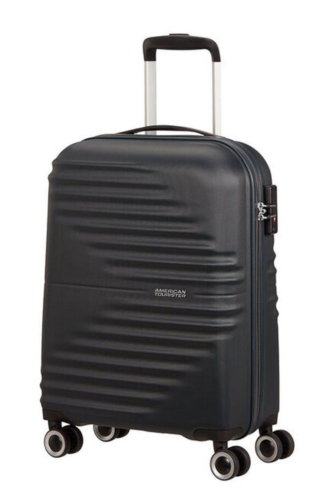 American Tourister Kabinový cestovní kufr Wavetwister 33 l - černá