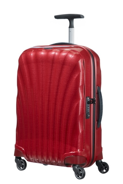 Samsonite Kabinový cestovní kufr Cosmolite Spinner V22 36 l - červená