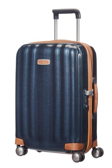 Samsonite Kabinový cestovní kufr Lite-Cube DLX Spinner 82V 36,5 l - modrá