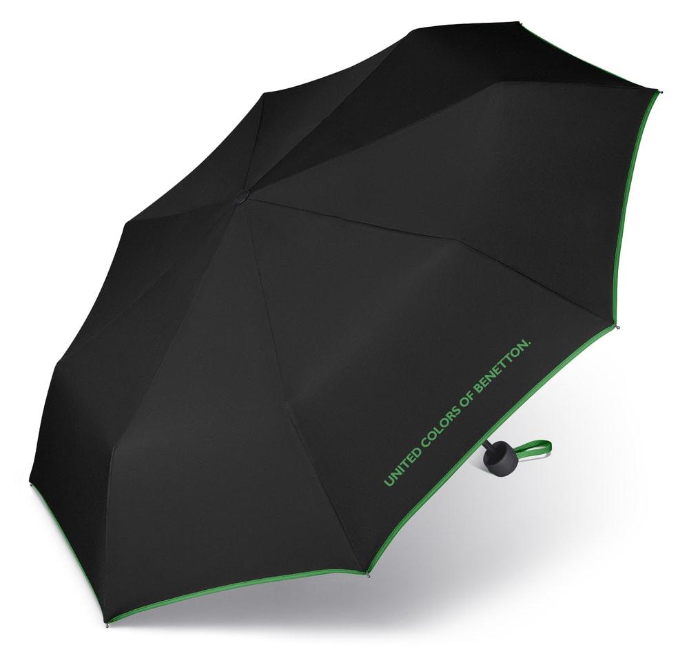 United Colors of Benetton Skládací deštník 56200 - černá