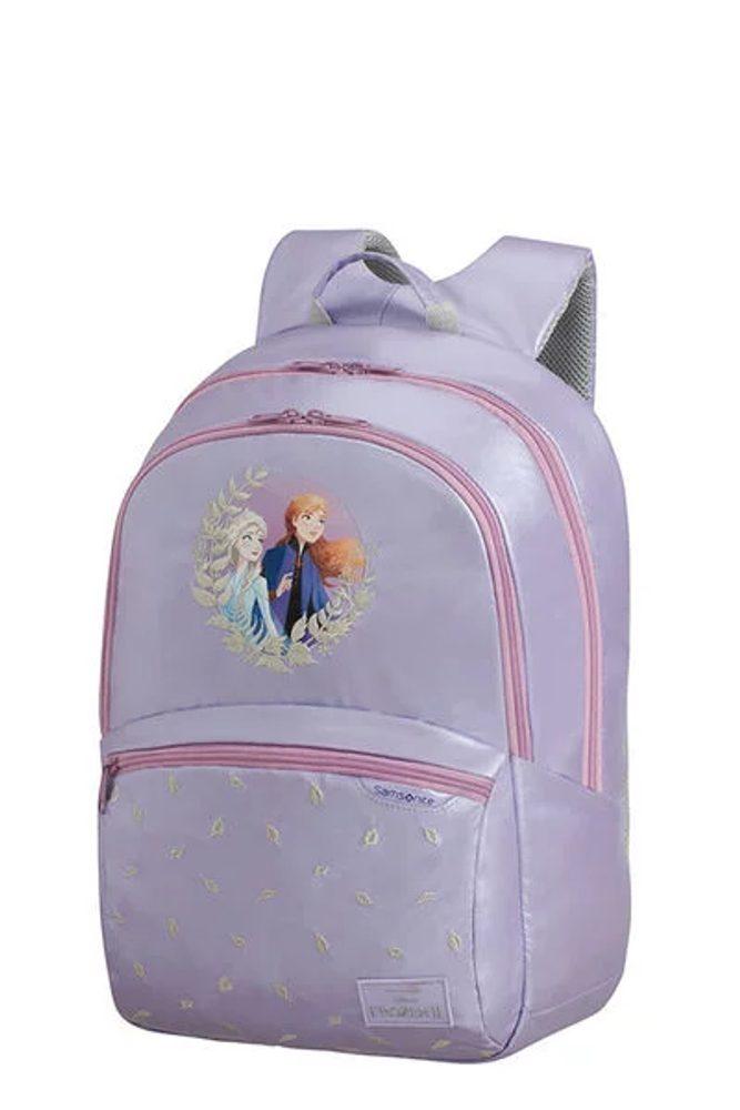 Samsonite Dětský batoh Disney Ultimate 2.0 M Frozen 18,5 l - fialová