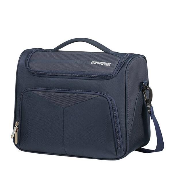 American Tourister Kosmetický kufřík Summerfunk 78G 16,5 l - modrá