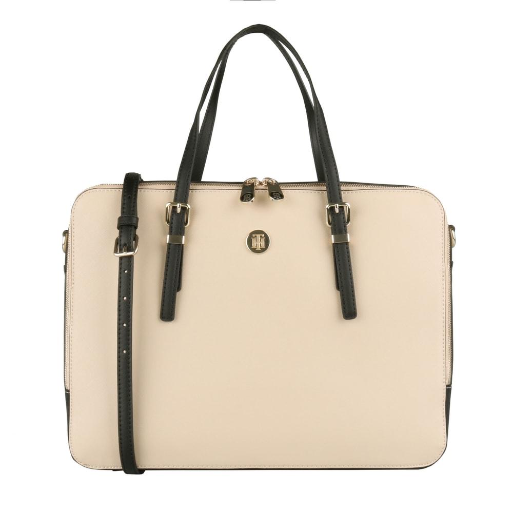 1947f4e4d Tommy Hilfiger Dámská taška na notebook Honey AW0AW06485 - béžová