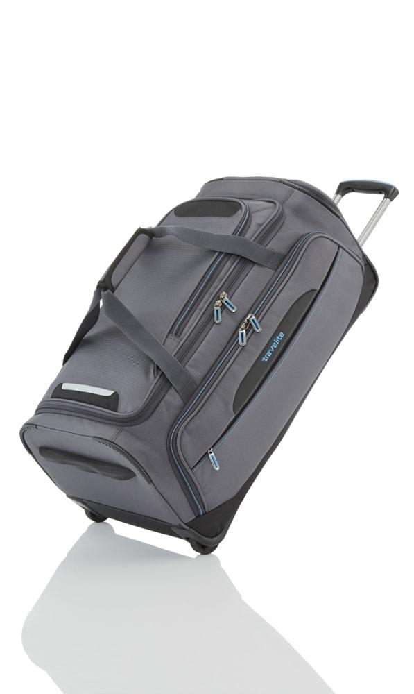 Travelite Cestovní taška na kolečkách CrossLITE M Anthracite 82 l