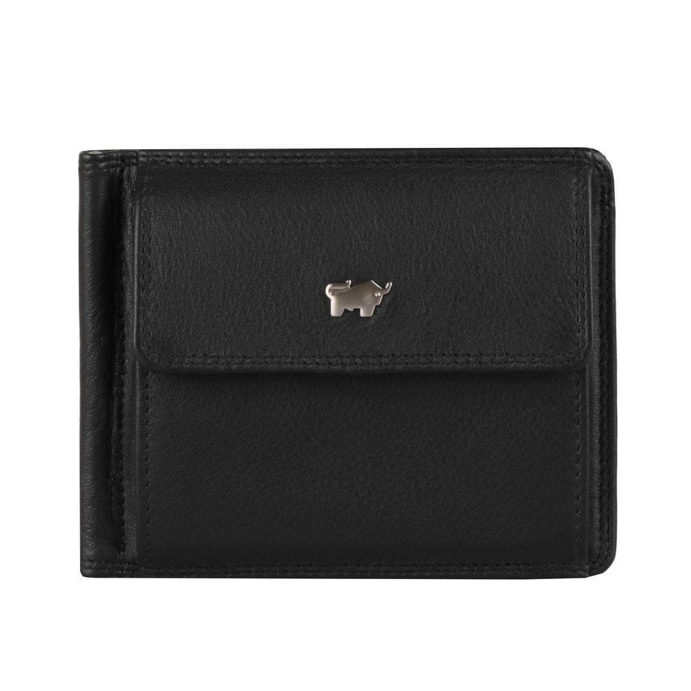 Braun Büffel Pánská kožená dolarovka Golf 2.0 90339-051 - černá