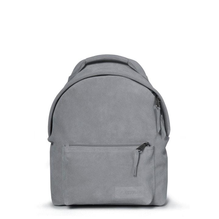 211655c13b EASTPAK Městský kožený batoh Orbit Sleek r Suede Grey 11 l