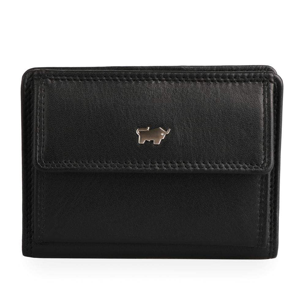 Braun Büffel Pánská kožená peněženka GOLF 2.0 Geldbörse X 90111 - černá