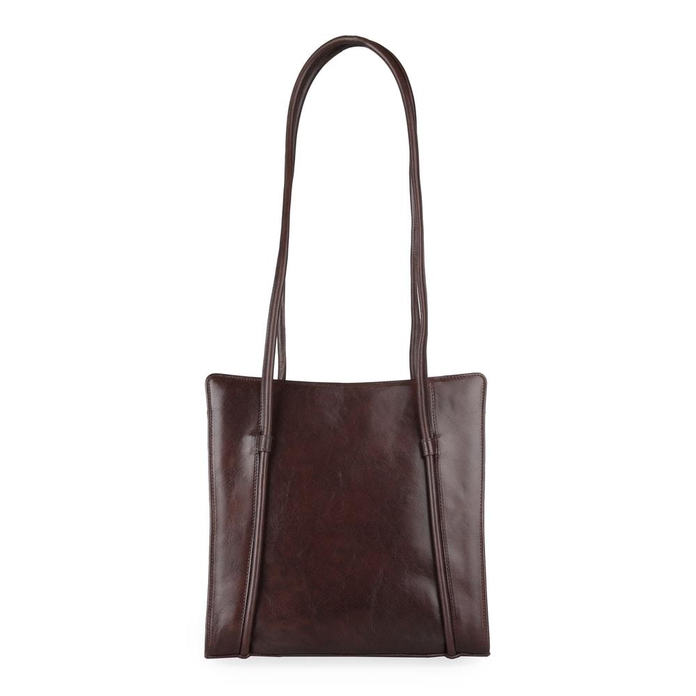 Hajn Dámská kožená kabelka přes rameno 1056014 hnědá