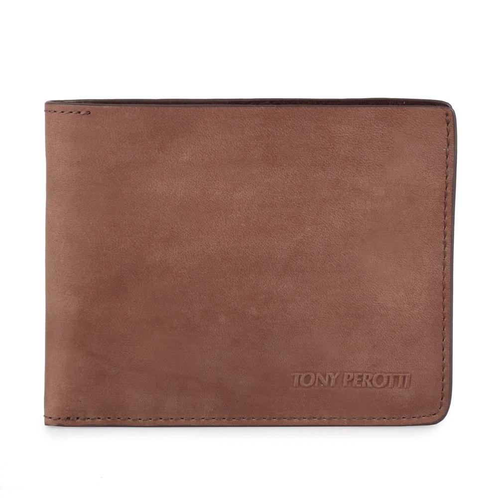 Tony Perotti Pánská kožená peněženka Metropolis 3559 - hnědá