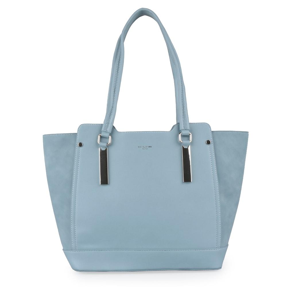 David Jones Paris Dámská shopper kabelka CM5141 - světle modrá