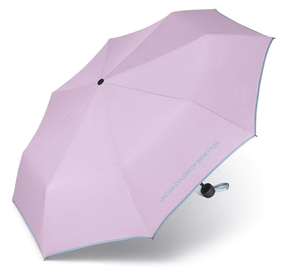 United Colors of Benetton Skládací deštník 56200 - lila