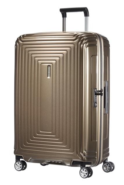 Samsonite Cestovní kufr Neopulse Spinner 74 l - hnědá