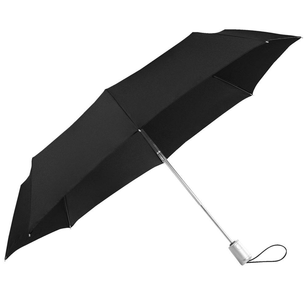 Samsonite Skládací automatický deštník Alu Drop S Safe 3 - černá