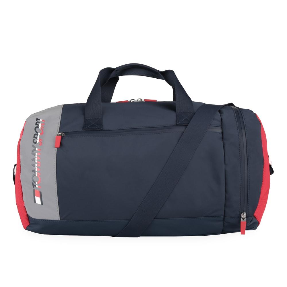 Tommy Hilfiger Unisexová cestovní/sportovní taška TS Core AU0AU00601 - tmavě modrá