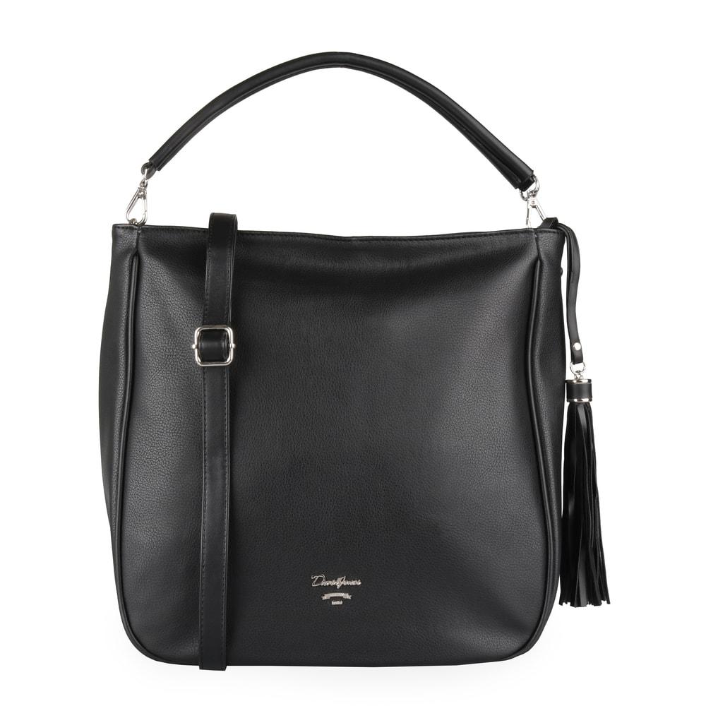 David Jones Paris Dámská kabelka přes rameno CM5089 - černá