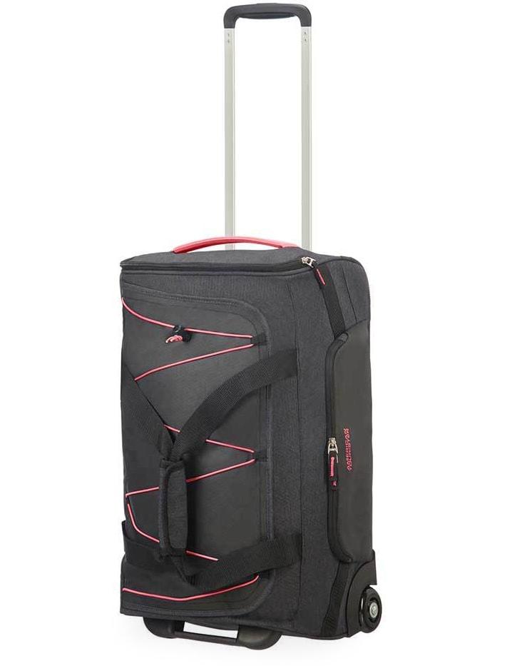 American Tourister Cestovní taška Road Quest 42 l - tmavě šedá/růžová