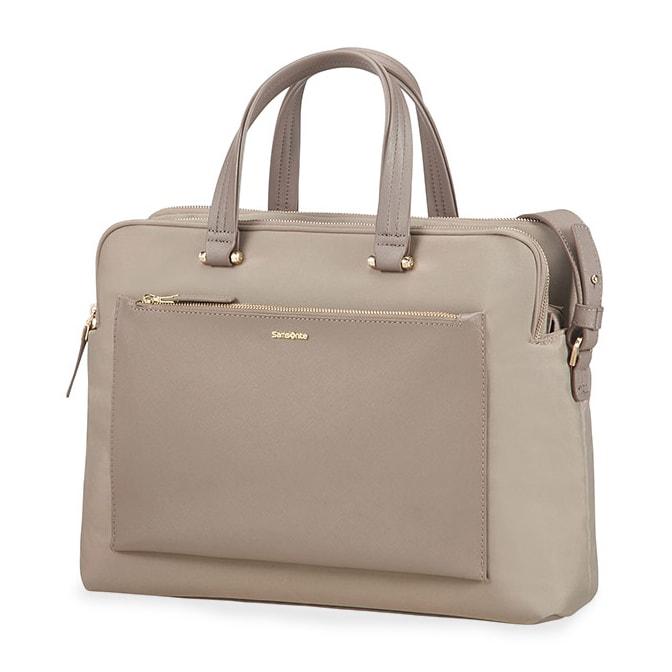 """Samsonite Dámská taška na notebook Zalia 85D-004 14.1"""" - béžová"""