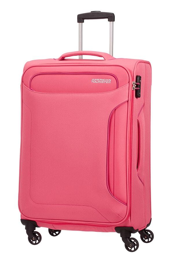 American Tourister Cestovní kufr Holiday Heat Spinner 50G 66 l - růžová