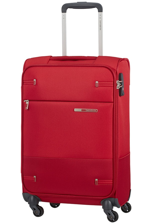 Samsonite Kabinový cestovní kufr Base Boost Spinner 38N 35 l - tmavě červená