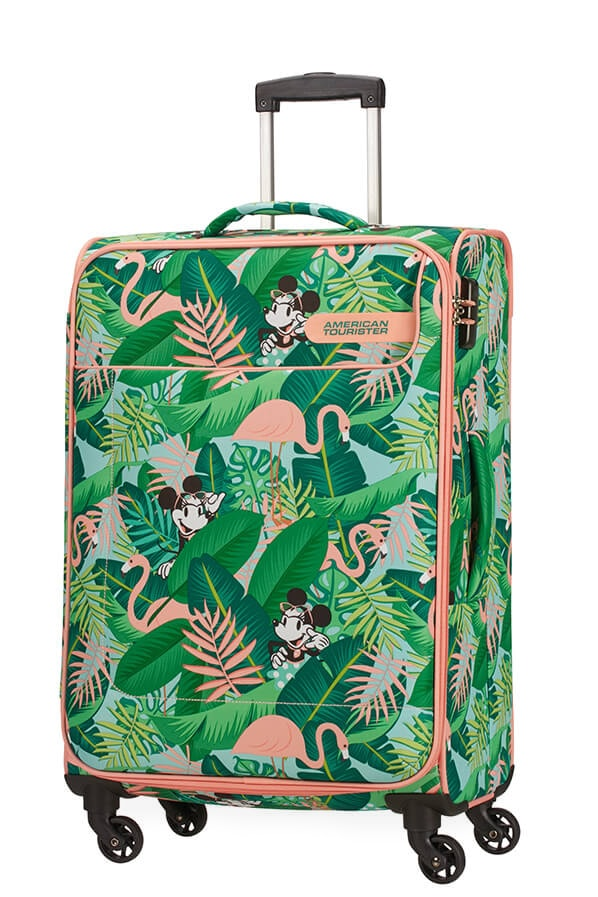American Tourister Cestovní kufr Funshine Disney Spinner 49C 63,5 l - Minnie Miami Palms