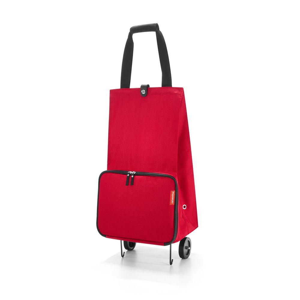 Reisenthel Skládací nákupní taška na kolečkách červená 30 l