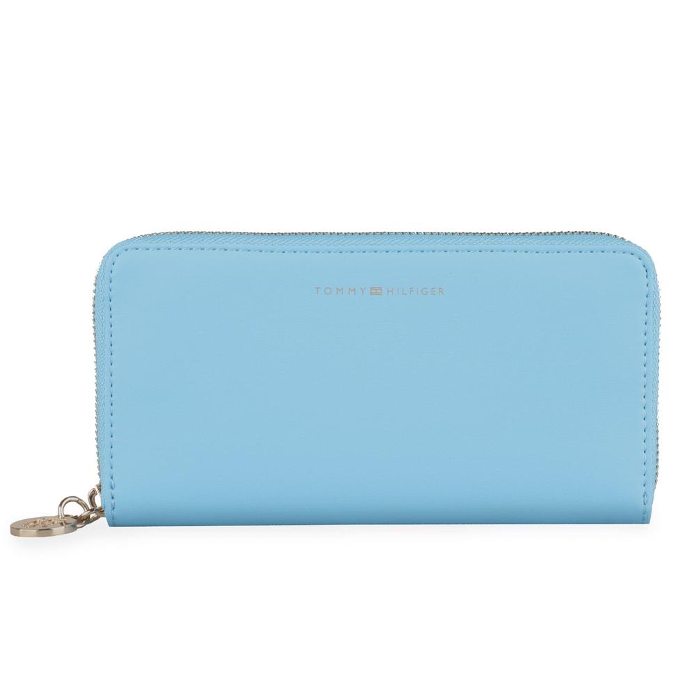 Tommy Hilfiger Velká dámská peněženka Tommy Statement AW0AW06558 - modrá