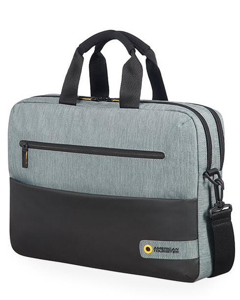 "American Tourister Taška na notebook City Drift 28G 16 l 15.6"" - šedá"