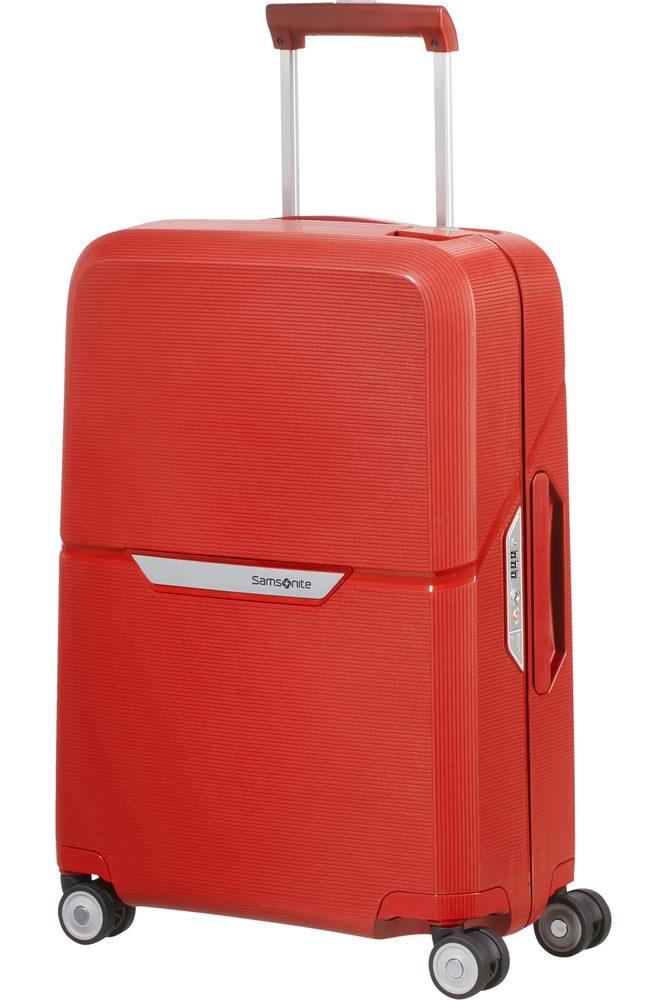 Samsonite Kabinový cestovní kufr Magnum Spinner 38 l - červená