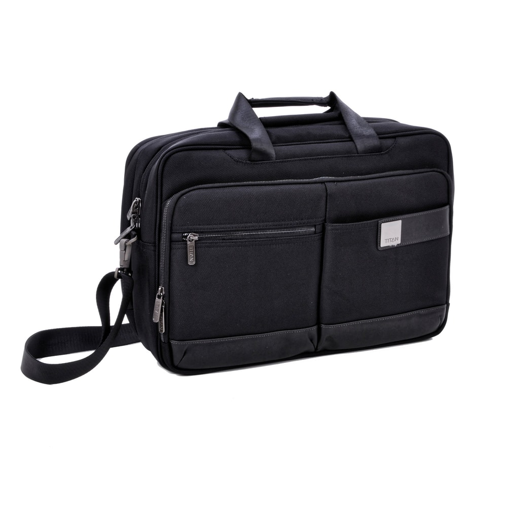 Titan Palubní taška Power Pack Laptop Bag L Black 26/32 l