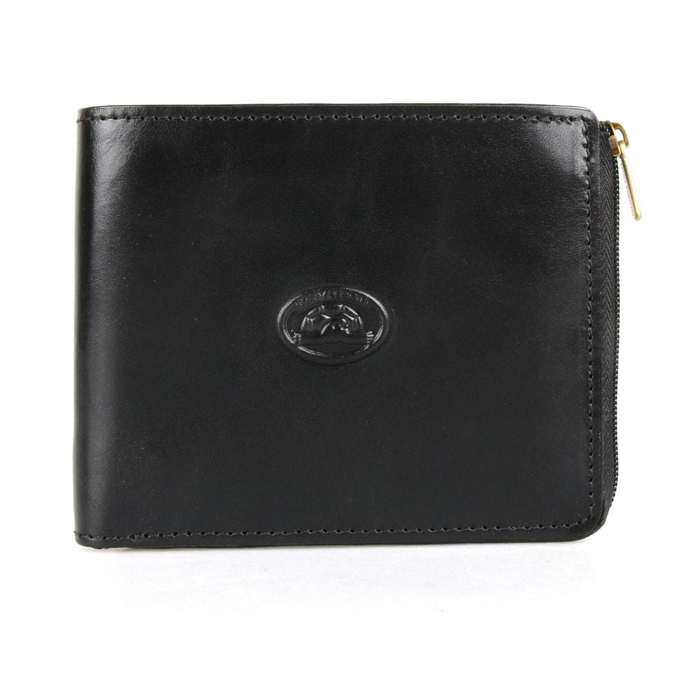 Tony Perotti Pánská kožená peněženka Italico 3645 - černá