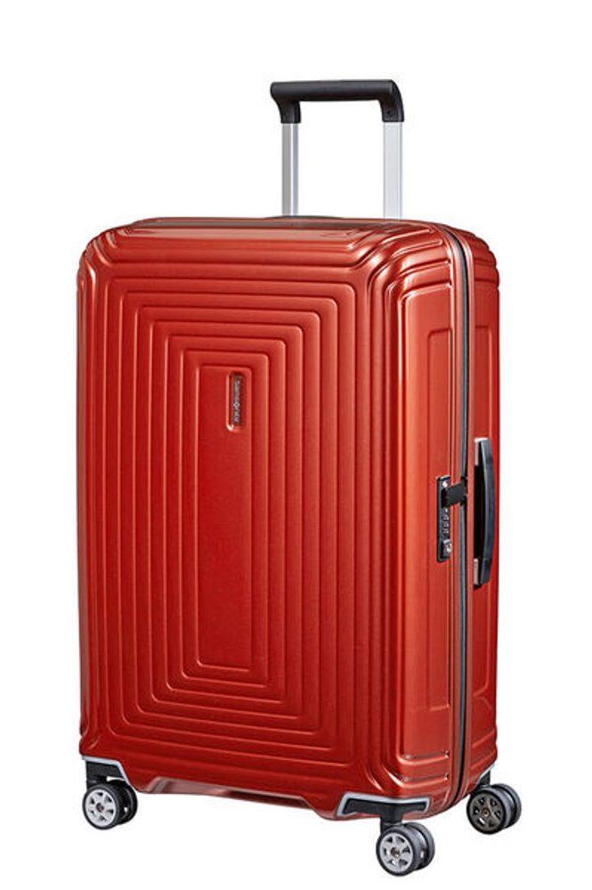 Samsonite Cestovní kufr Neopulse Spinner 74 l - lesklá červená