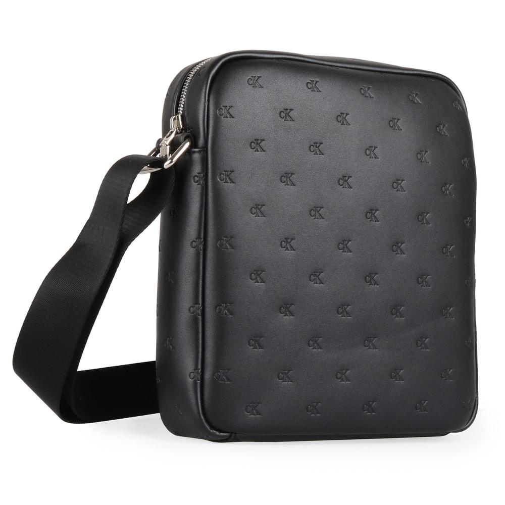 Calvin Klein Pánská taška přes rameno Smooth Essentials Mono Flat K60K604923 - černá