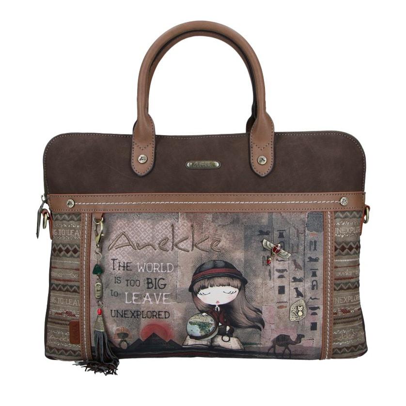 Anekke Dámská taška na notebook 14\'\' Exploradora Egypt 29894-10 Anekke